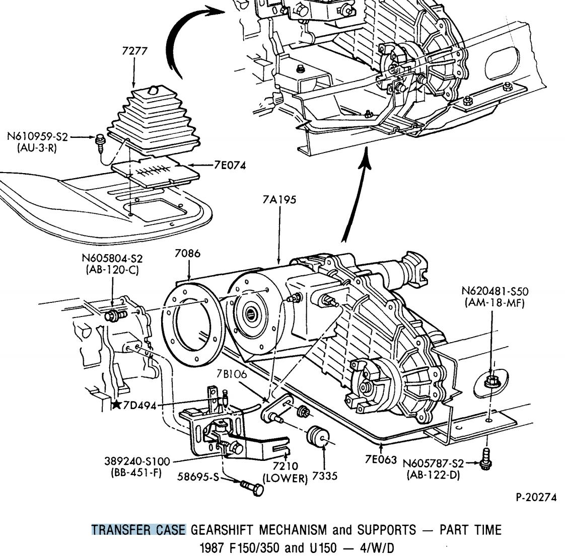 1992 Ford F150 Transfer Case Diagram Wiring Diagrams Schema