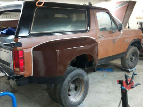 eBay & Craigslist Finds - 1985 Dually Bronco Project For Sale