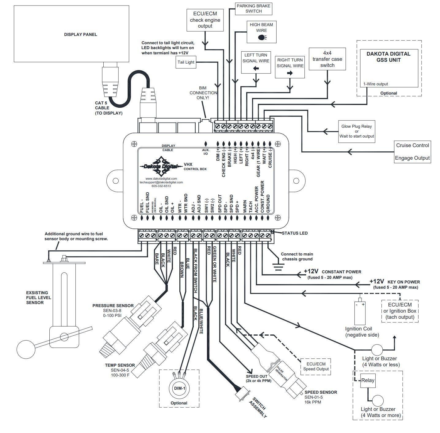 Bullnose Enthusiasts - Dakota Digital Gauges for 1980-1986 F ... on