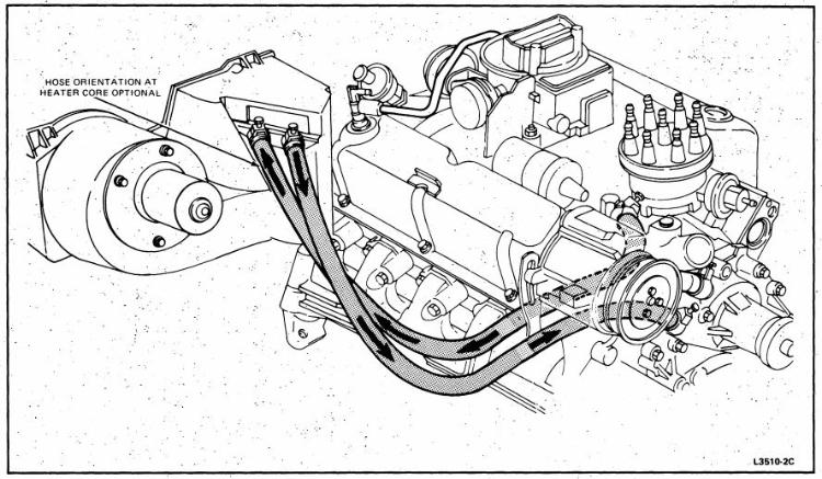 ford 302 cooling system diagram