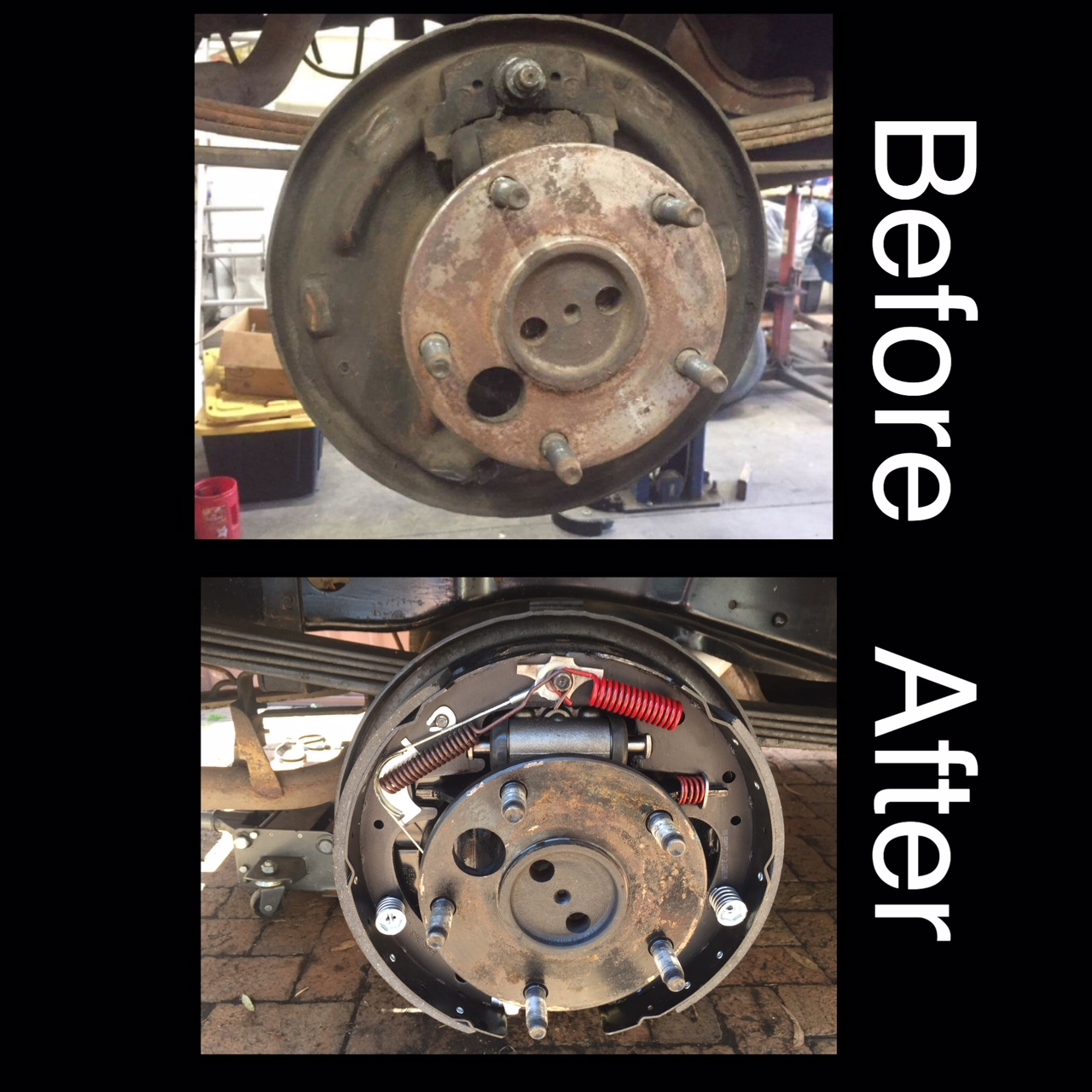 New rear brakes