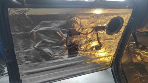 Sound/Heat shield installation 2